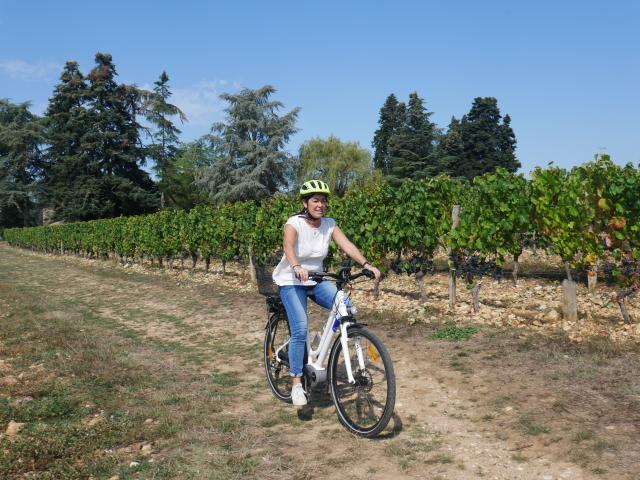 A Velo Dans Les Vignes 13cc Seguy Lot Tourisme