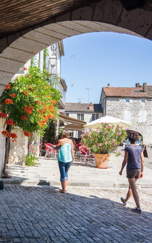 Arcades à Castelnau Montratier