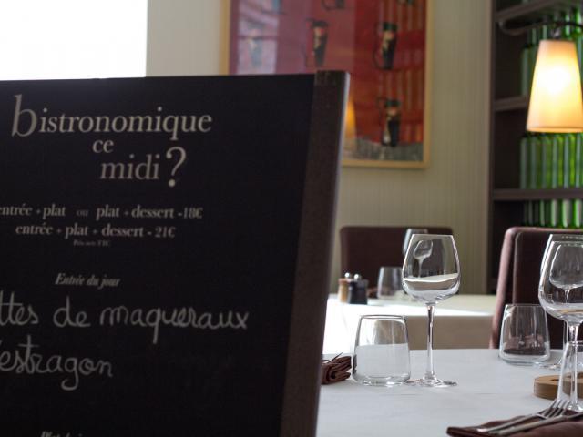Au restaurant l'Allée des Vignes à Cajarc