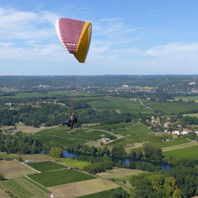 Bapteme Parapente Douelle Occitanie