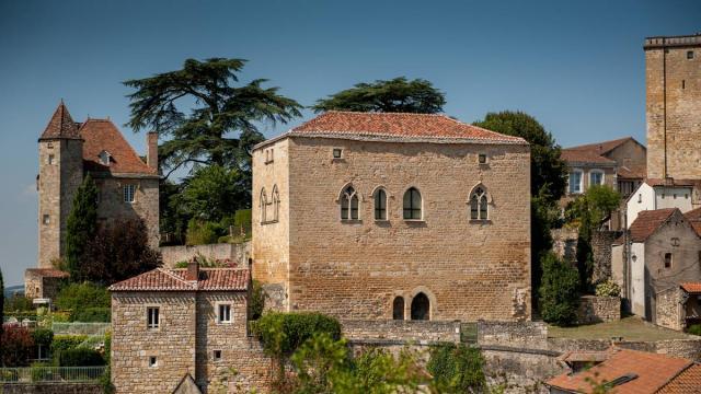 Bourg Castral De Puy Leveque
