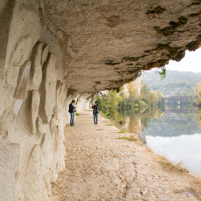 Bouziès - Chemin de halage
