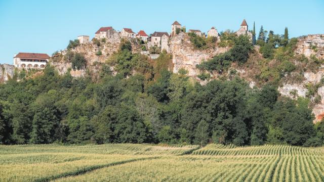 Calvignac, vallée du Lot