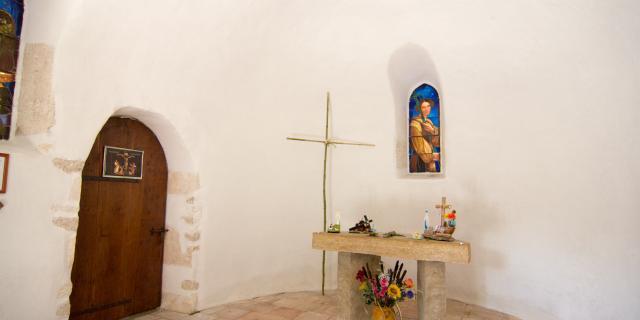 Chapelle St-Jean de Froid à Lascabanes