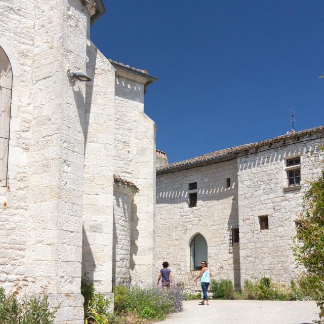 Détails d'architecture à Flaugnac