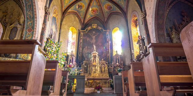 Eglise Saint Quirin à Lalbenque