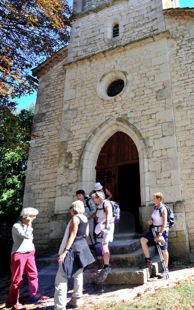 Eglise Saint-Pierre de Rouillac à Montcuq
