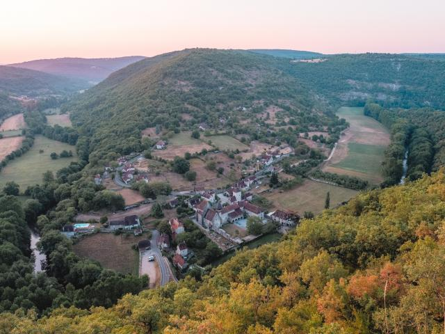 Espagnac-Ste-Eulalie, vallée du Célé