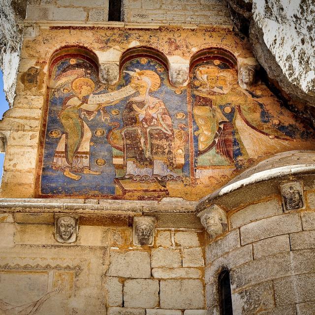 Fresque sur sanctuaires Rocamadour