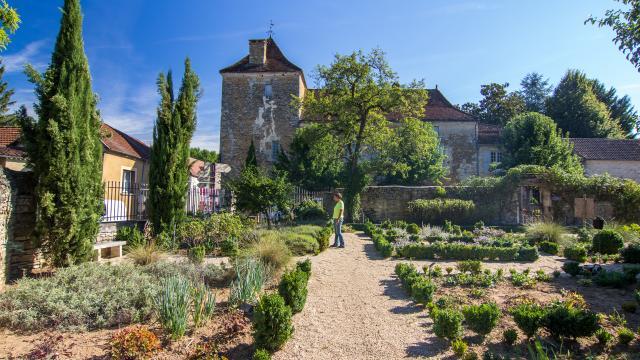 Jardin médiéval à Salviac