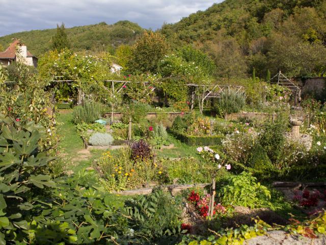 Jardins des Sens à Castelfranc