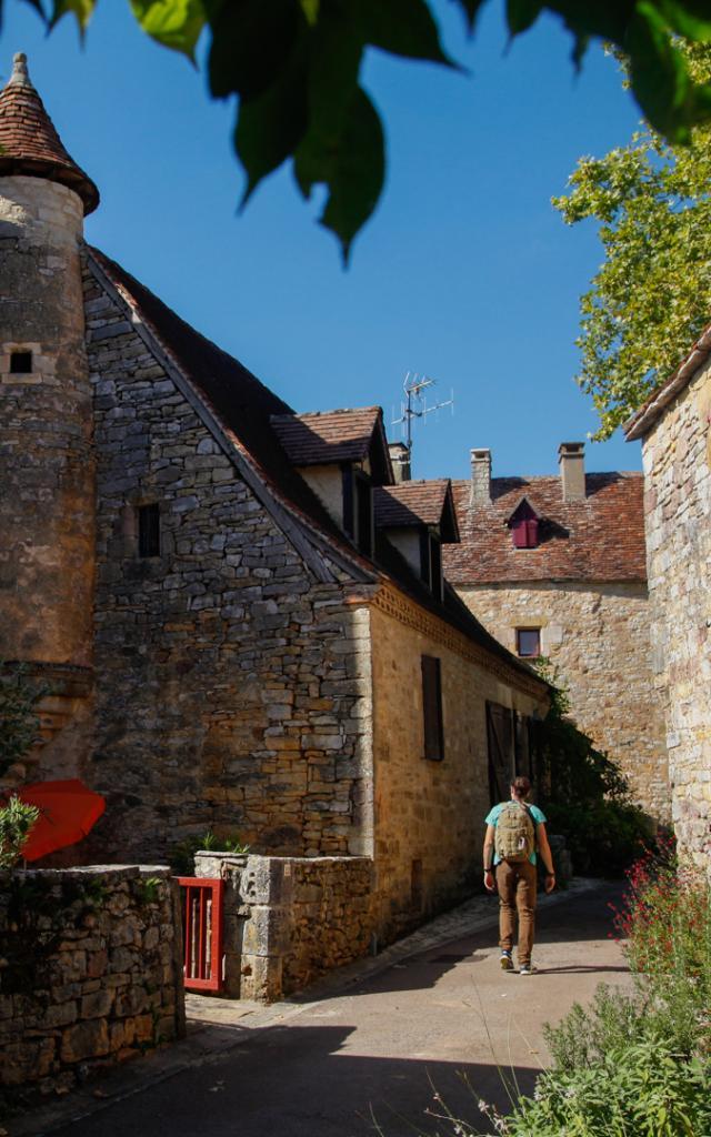 Ruelle village lotois