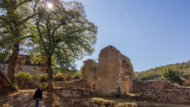 L'abbaye Nouvelle à Léobard