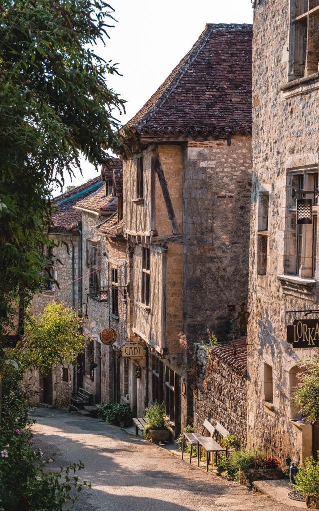 Le charme des ruelles de Saint-Cirq-Lapopie