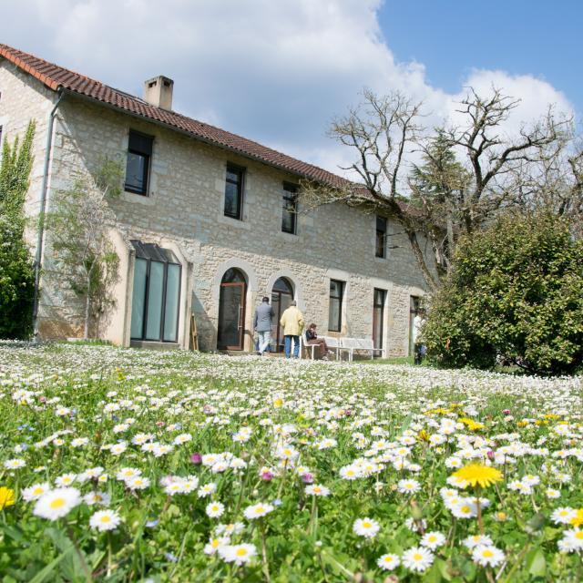 Maison des arts Georges et Claude Pompidou à Cajarc