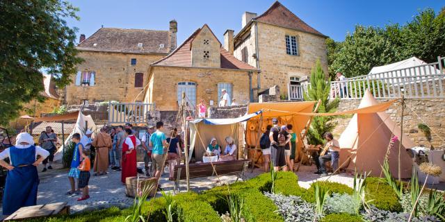 Marché - Les Médiévales de Gourdon 2015