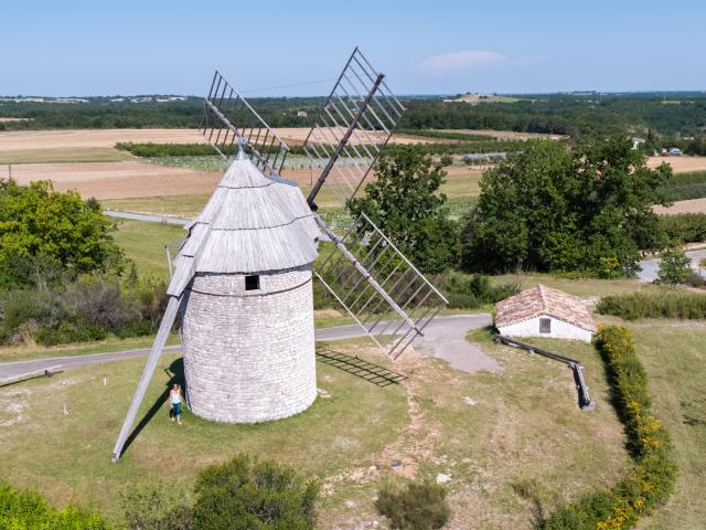 Moulin de Boisse à Sainte-Alauzie