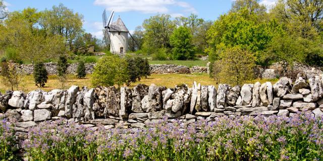 Moulin de la Bosse à Promilhanes