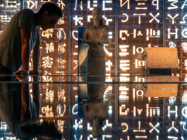 Musée Champollion - Les Ecritures diu Monde