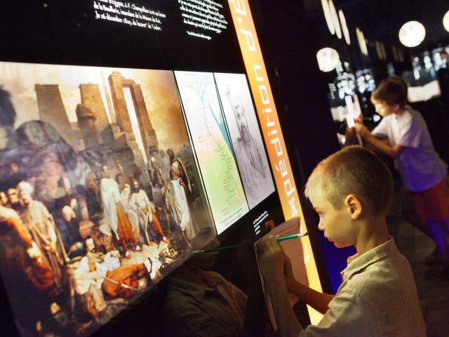 Musée Champollion - Les Ecritures du Monde à Figeac