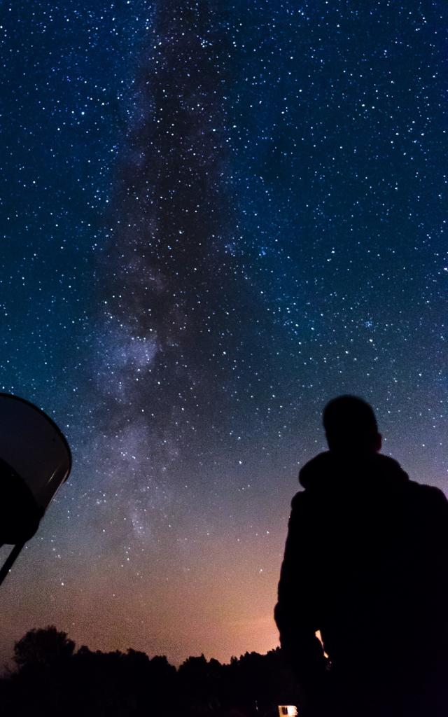 Observation du ciel à Alvignac