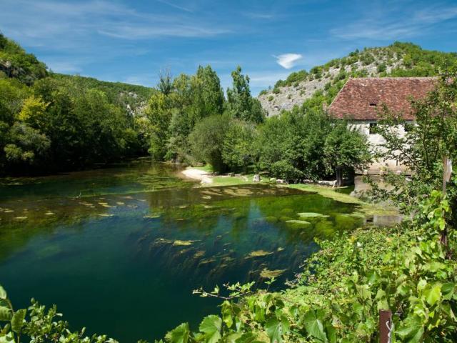 Ouysse Et Moulin De Cougnaguet Isabelle Caubet 1