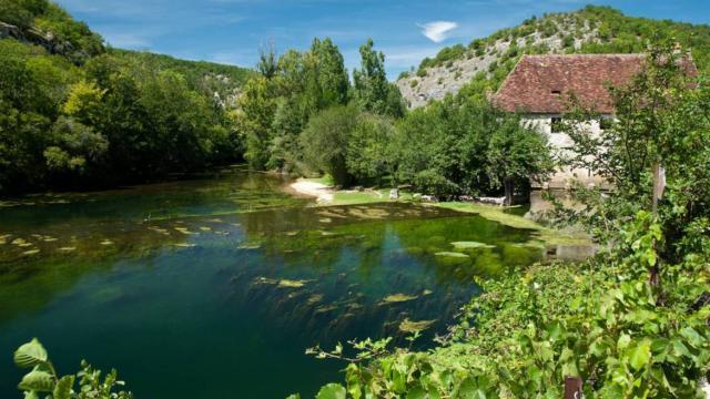 Ouysse et Moulin de Cougnaguet