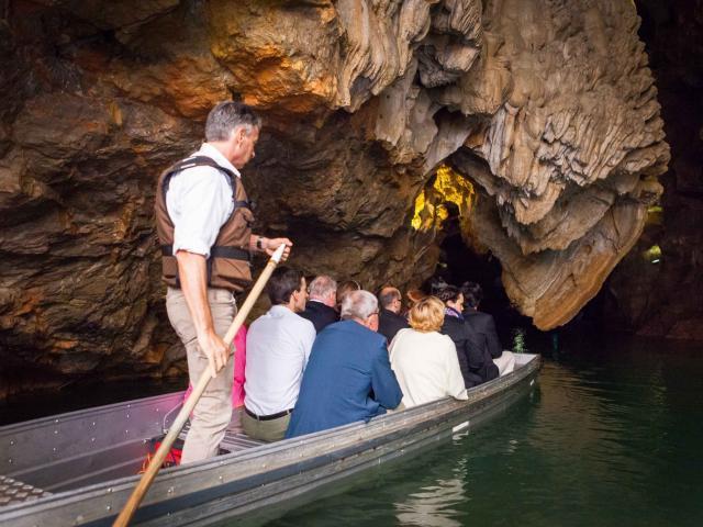Visite en barque au gouffre de Padirac
