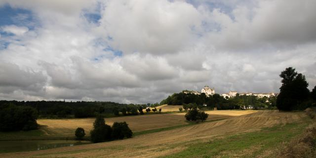 Paysage autour de Castelnau-Montratier