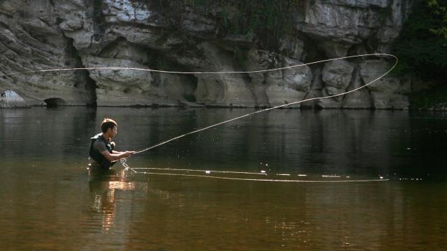 Pêche à la mouche - Vallée de la Dordogne