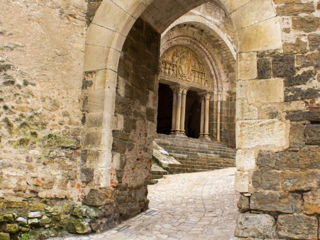 Tympan De l'église De Carennac