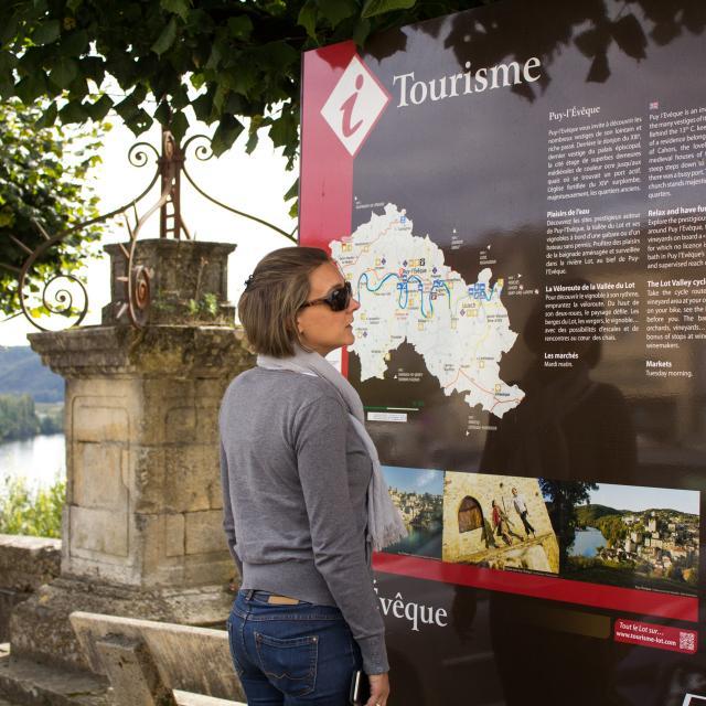 Point d'infos Puy l'Evêque