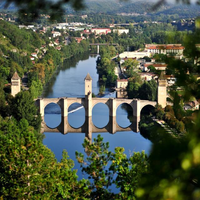 Point de vue de la Croix de Magnes - Cahors