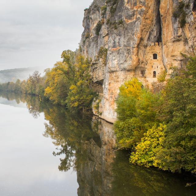 Pont de Bouziès - Château des anglais