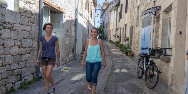 Rue des Orfèvres à Castelnau-Montratier