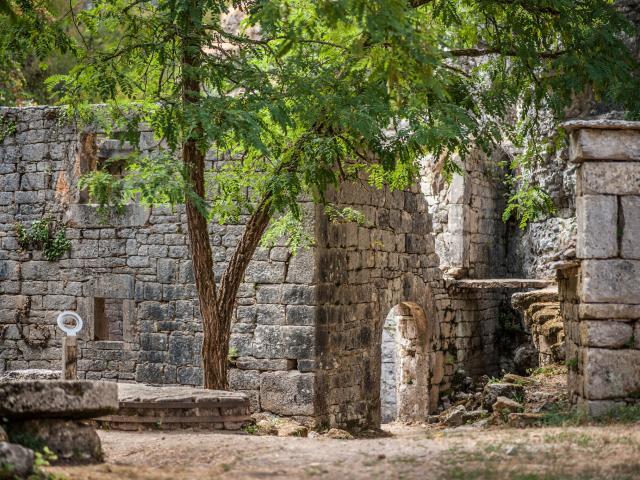 Ruines du Moulin du Saut - Gramat