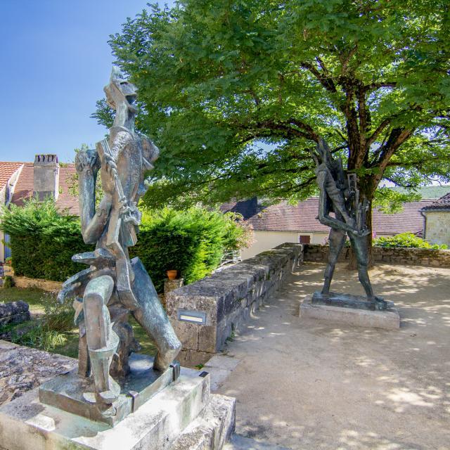 Sculptures de Ossip Zadkine