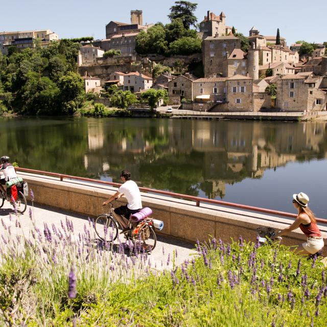 Véloroute à Puy L'Evêque