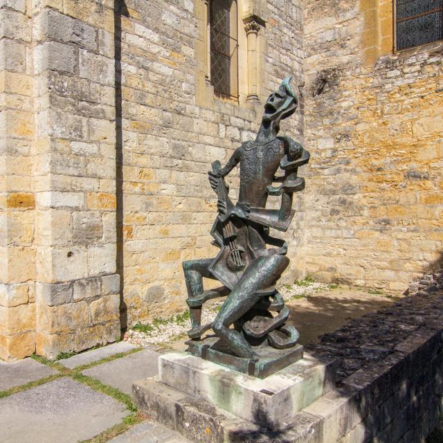 Village des Arques - sculptures de Zadkine