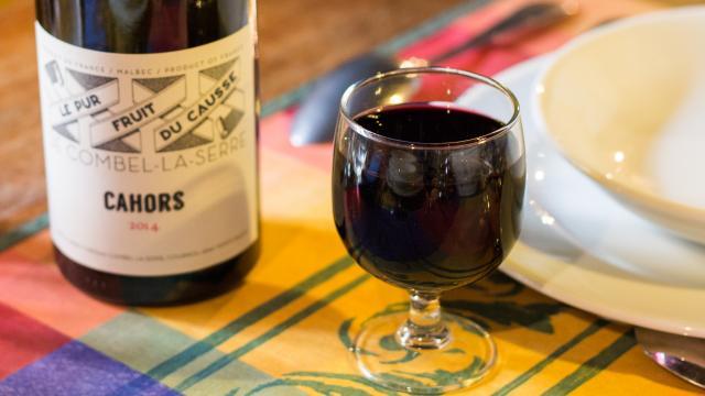 Vin - Restaurant Lou Bourdié à Bach