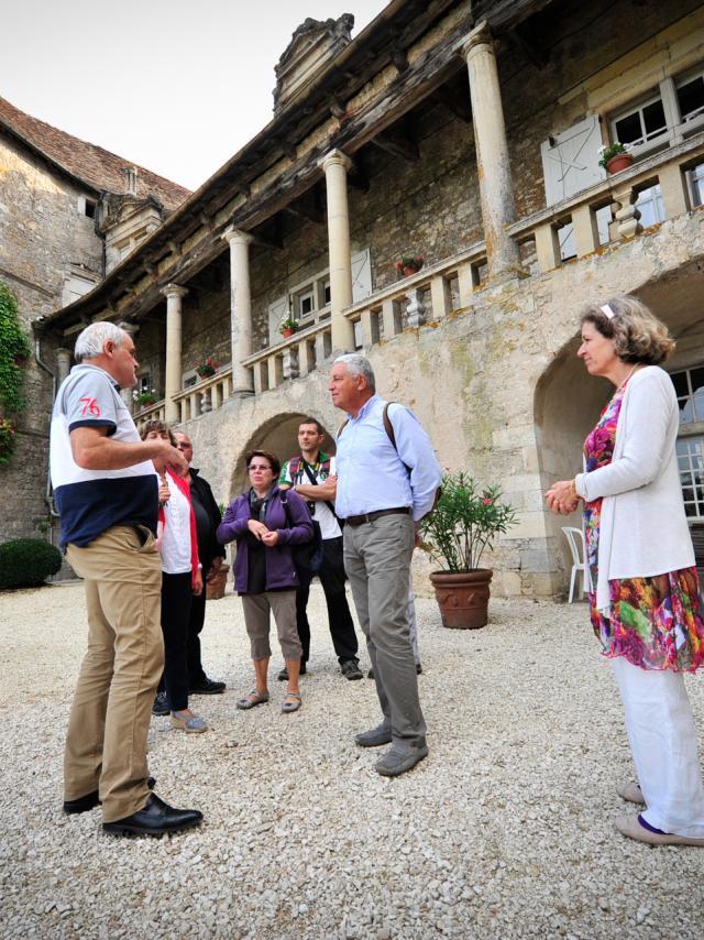 Visite du Château de Cénevières