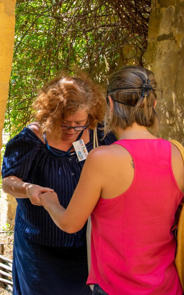 Visite sensorielle de Gourdon - Les jardins de la rue Zigzag