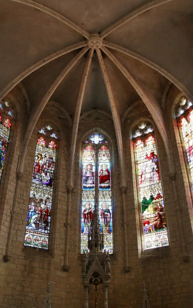 VItraux de l'Eglise de Montcuq