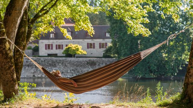 Détente sur les bords de Dordogne
