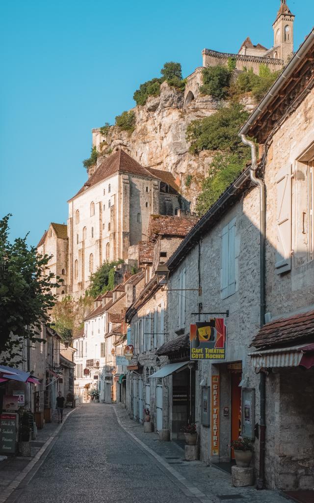 Au coeur de la cité de Rocamadour