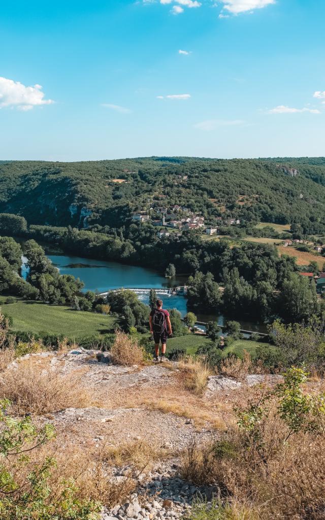 Point de vue de Saint-Géry, vallée du Lot