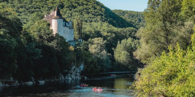 Château de la Treyne, vallée de le Dordogne
