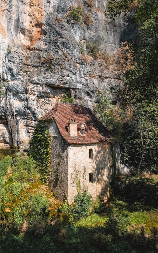 Moulin de la Pescalerie, vallée du Célé