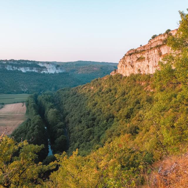 Vallée du Célé à Brengues