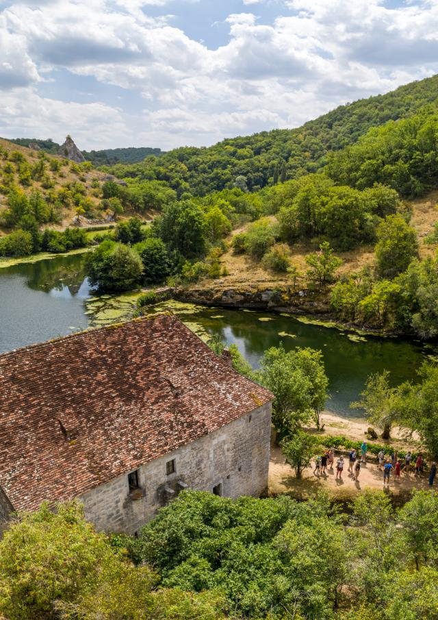Moulin de Cougnaguet Vallée de l'Ouysse